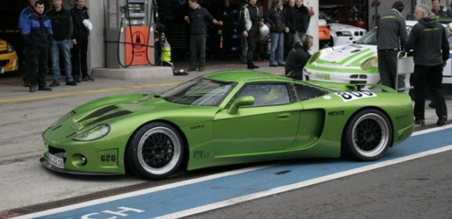 CCG customGT este un supercar construit pe GPL